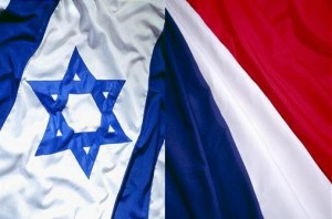 IsraelFranceFlags