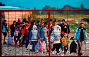 FYROM REFUGEES MIGRATION CRISIS