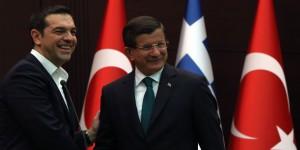 Ahmet Davutoglu, Alexis Tsipras