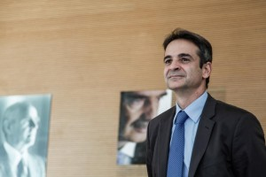 Kyriakos Mitsotakis announces his candidacy for the chairmanship of New Democracy party, Athens, on October 2, 2015 / Ο Κυριάκος Μητσοτάκης καταθέτει υποψηφιότητά του για τη προεδρία του κόμματος της Νέας Δημοκρατίας, Αθήνα, στις 2 Οκτωβρίου, 2015