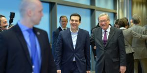 Greek Prime Minister Alexis Tsipras Visits Brussels