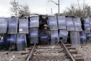 Idomeni migranti