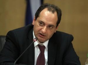 Ο αναπληρωτής υπουργός Υποδομών, Μεταφορών και Δικτύων Χρήστος Σπίρτζης μιλάει κατά τη διάρκεια της τελετής παράδοσης - παραλαβής του Υπουργείου Υποδομών, Αθήνα, την Τετάρτη 28 Ιανουαρίου 2015. ΑΠΕ-ΜΠΕ/ΑΠΕ-ΜΠΕ/ΣΥΜΕΛΑ ΠΑΝΤΖΑΡΤΖΗ