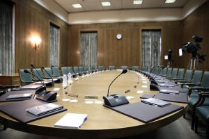 Meeting of the cabinet council, in the Greek Parliament, Athens, Greece on September 25, 2015. / Σύσκεψη του υπουργικού συμβουλίου, στη Βουλή, Αθήνα, 25 Σεπτεμβρίου 2015.