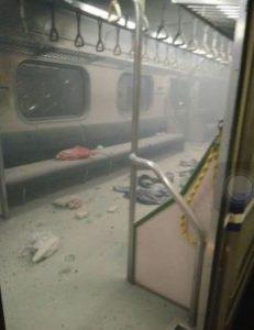 Taiwan train explosion Bomb on train in Taiwan  Source: UNKNOWN