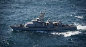 The U.S. Navy patrol craft USS Squall (PC 7) steams in the Arabian Gulf in this U.S. Navy picture taken January 14, 2015.   U.S. Navy/Mass Communication Specialist 2nd Class Anthony R. Martinez/Handout via Reuters