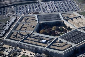 Aerial View of the Pentagon in Virginia